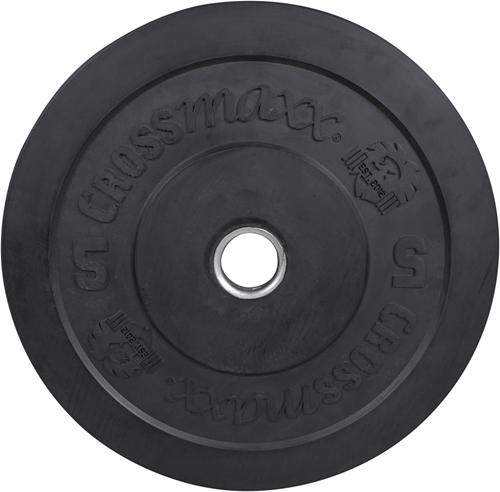 Lifemaxx Crossmaxx Olympische Halterschijf - 50 mm - 5 kg - Zwart