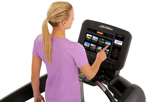 Life Fitness Platinum Discover SE3 Loopband - Titanium Storm - Gratis montage-3