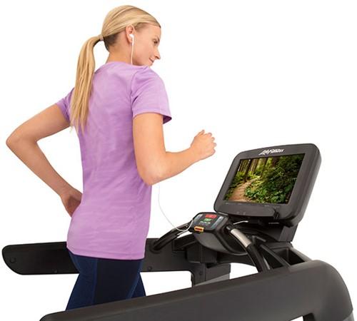 Life Fitness Platinum Discover SE3 Loopband - Titanium Storm - Gratis montage-2