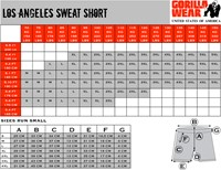Gorilla Wear Los Angeles Sweat Shorts - Black-3