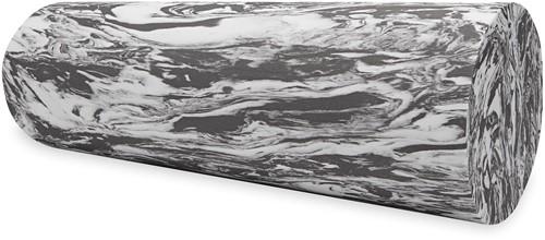 Gaiam Restore Marbled Foam Roller - 45 cm - Grey