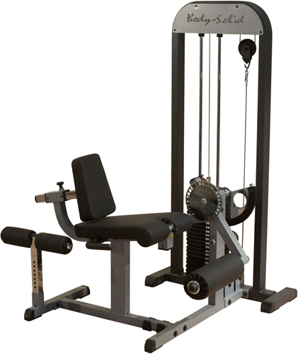 Body-Solid Leg Extension & Leg Curl Machine
