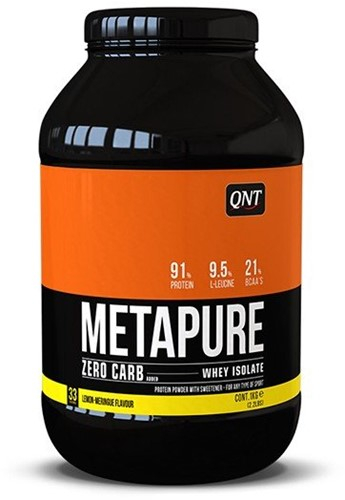 QNT Zero Carb Metapure - 908g - Lemon Meringue