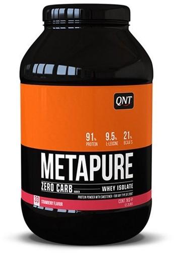 QNT Zero Carb Metapure - 1000g - Strawberry
