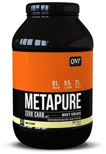 QNT Zero Carb Metapure - 908g - Red Fruits