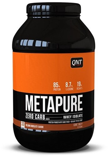 QNT Zero Carb Metapure - 1000g - Chocolade