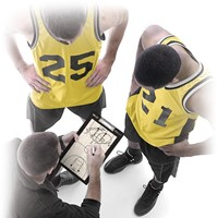 SKLZ Magnacoach - Basketbal Coachbord