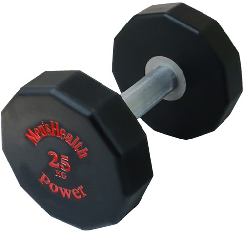 Men's Health PU Dumbbell - 25 kg