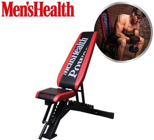 Men's Health Adjustable Bench - Verstelbare Halterbank