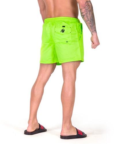 Gorilla Wear Miami Shorts - Neon Lime-2