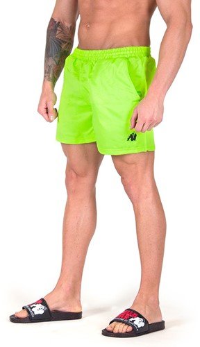 Gorilla Wear Miami Shorts - Neon Lime