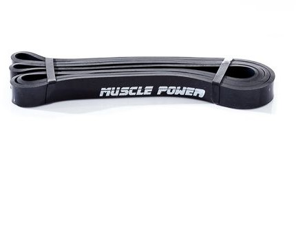 Muscle Power Power Band - Zwart - Licht
