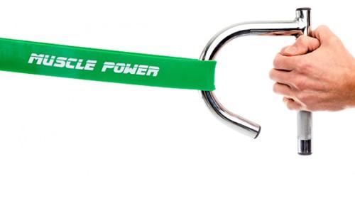 Muscle Power Weerstandsband Handgreep-3
