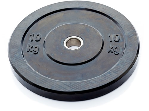 Olympic Black Bumper Plates - 10 kg