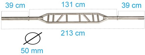 Swiss Bar Chrome 230CM-3