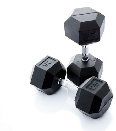 Muscle Power Hexa Dumbell - 25 kg - Per Stuk