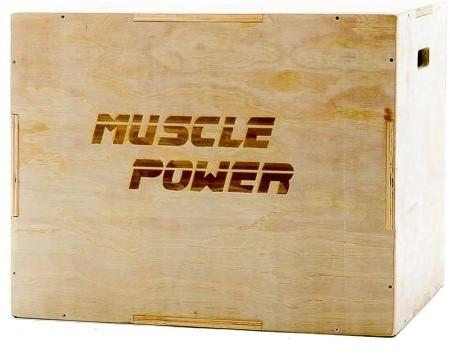 Muscle Power Houten Plyo Box