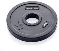 Rubber schijf gekleurd 2.5 kg (50 mm)