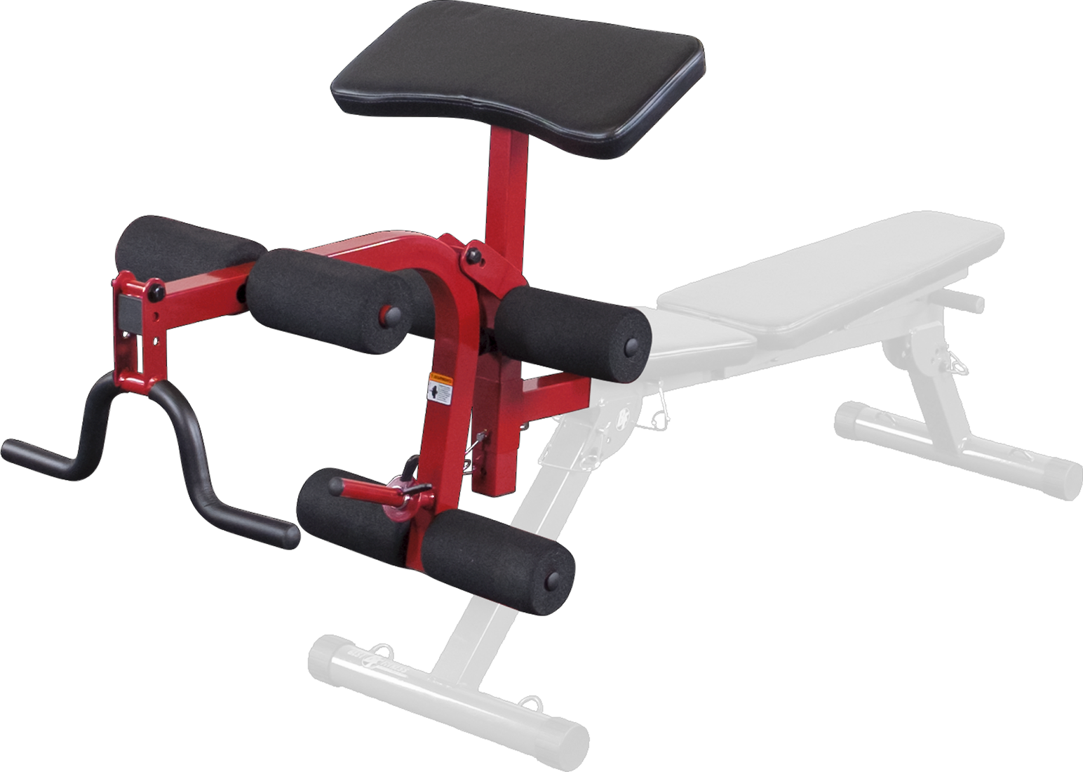 Excellent Body Solid Best Fitness Leg Developer Preacher Curl Uitbreiding Rood Gmtry Best Dining Table And Chair Ideas Images Gmtryco