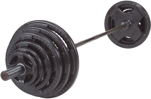 Body-Solid Olympische Halterset - Rubber - 200 kg