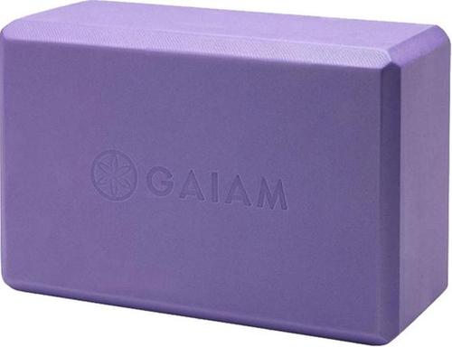 Gaiam Yoga Blok - Paars