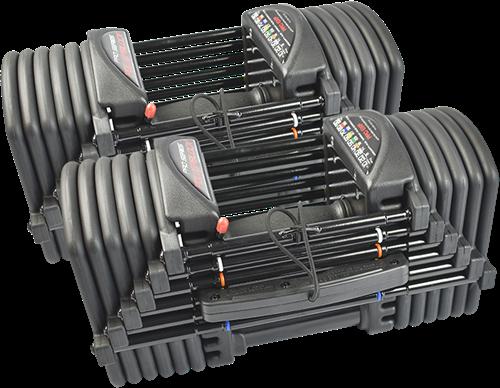 PowerBlock Pro EXP Set 5-70 - Verstellbare dumbbellset - 2,2 tot 31,7 kg
