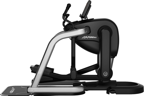 Life Fitness Platinum Club Series Discover SE3HD Flexstrider - Arctic Silver - Gratis montage-2