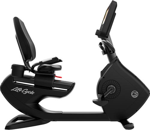 Life Fitness Platinum Discover SE3HD Ligfiets - Black Onyx - Gratis montage-2