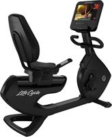 Life Fitness Platinum Discover SE3HD Ligfiets - Black Onyx - Gratis montage