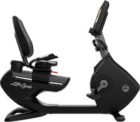 Life Fitness Platinum Discover SE3HD Ligfiets - Titanium Storm - Gratis montage-2