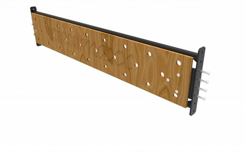 Lifemaxx Crossmaxx XL Peg Board - 180 cm - voor Crossmaxx Rig