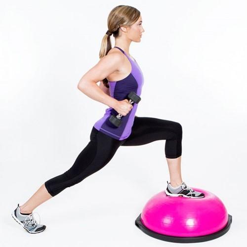 Bosu Balance Trainer Home Edition Roze 65 cm-3