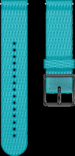 Polar Ignite Verwisselbare Geweven Polsband - Turquoise