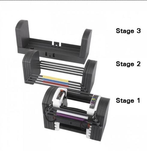 PowerBlock flex u90 stage 3 (47,6 - 56,7 kg per paar)-2