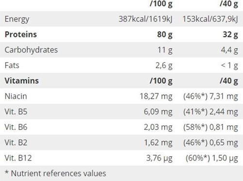 QNT Protein 80 - 750g - Vanille-2