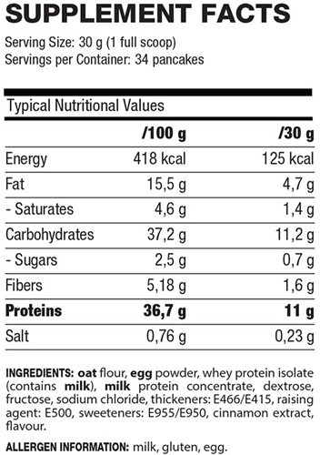QNT - Protein Pancake 1020g-2
