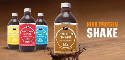 QNT Protein Shake - 12 x 500 ML -  Banaan-3