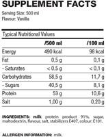 QNT Protein Shake - 12 x 500 ML - Aardbei-2