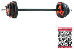 Gymstick Pump Set 20 kg met Trainingsvideo's