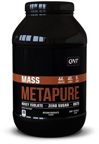QNT Metapure Mass Sugar Free - 1815 gram-2