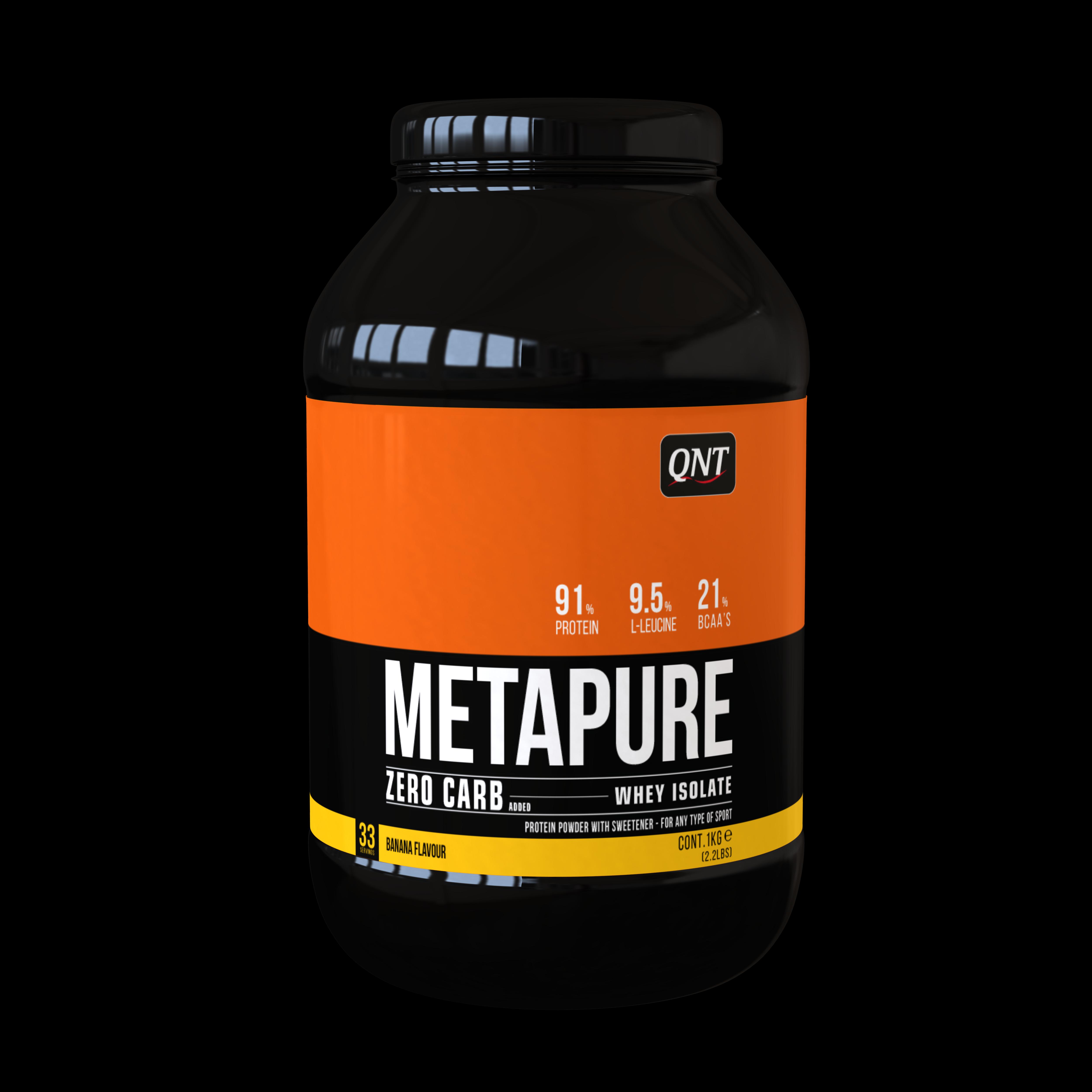 QNT Zero Carb Metapure Melk Vanille 2kg