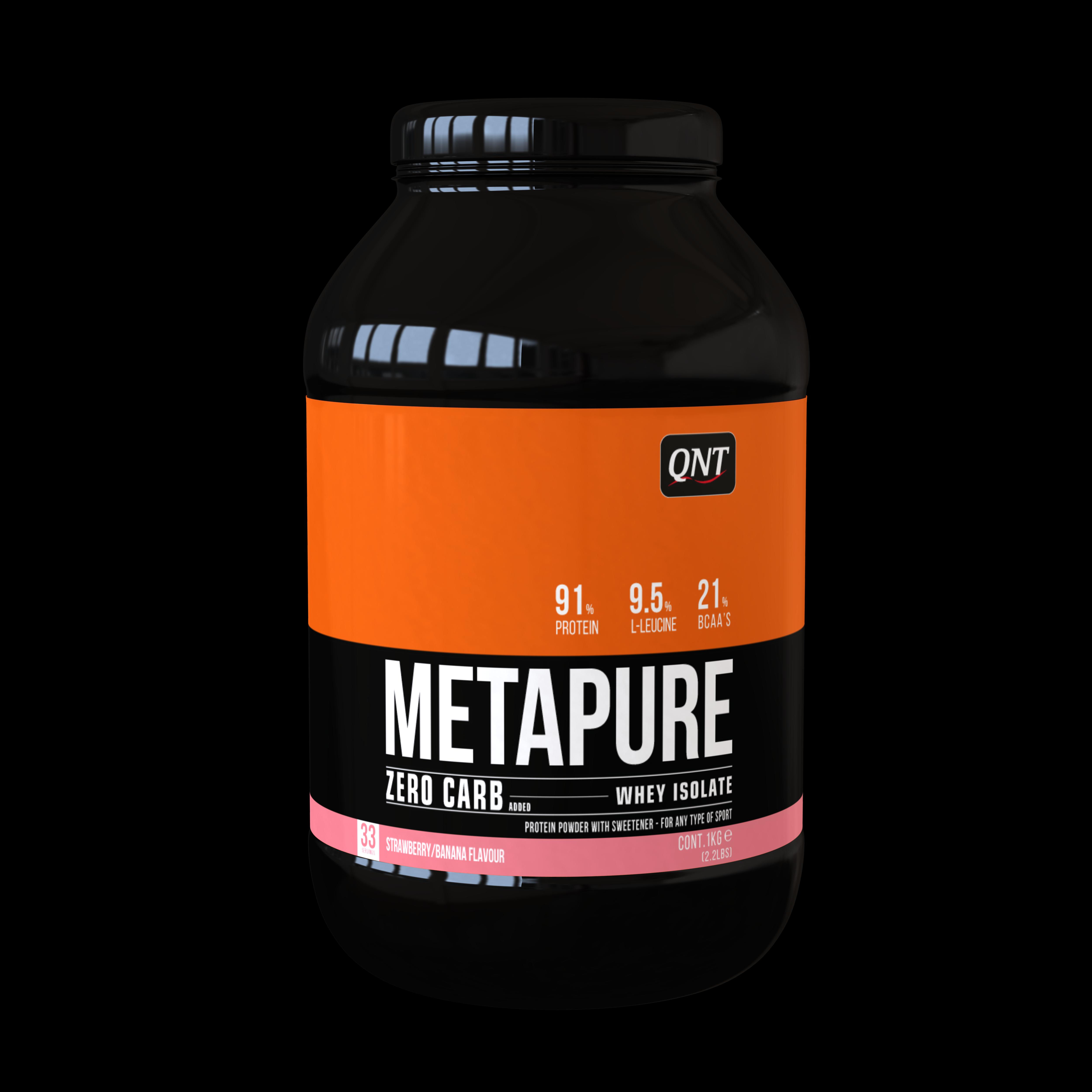 QNT Zero Carb Metapure Melk Vanille 1kg