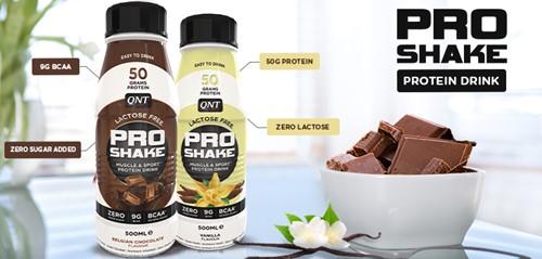 QNT Pro Shake - 12 x 500 ml - Vanille-3