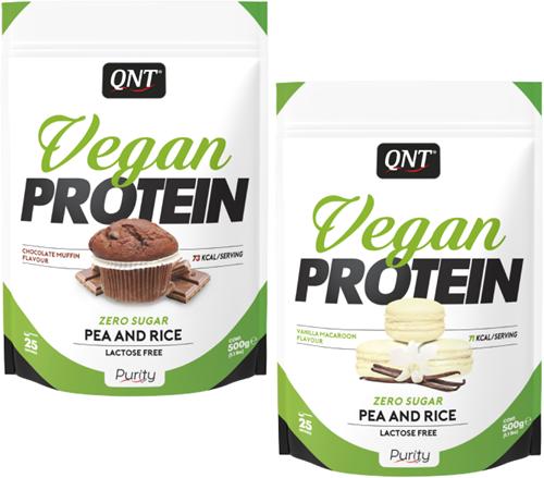 QNT Vegan Protein - 500 gram