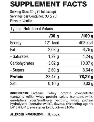 QNT Delicious Whey Protein - 2200g - Yoghurt Mango-2