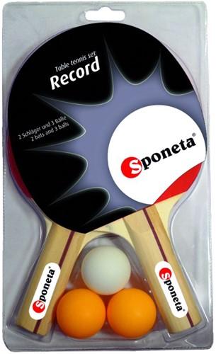 Sponeta Record Tafeltennisbatjes Set
