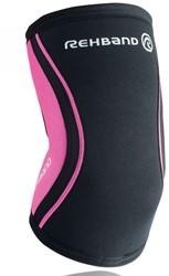 Rehband Elleboogbrace RX 5MM Black/Pink