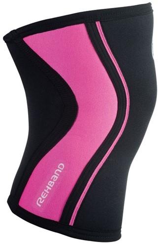 Rehband Kniebrace RX 3MM Black/Pink-2