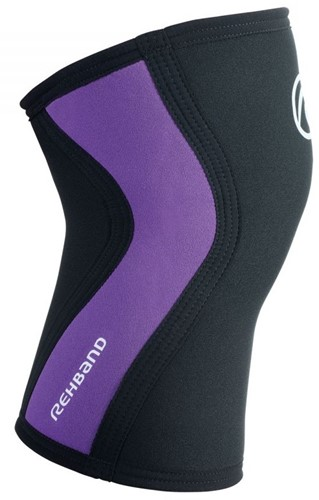 Rehband Kniebrace RX 3MM Black/Purple-2