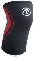 Rehband Kniebrace RX 3MM Black/Red Froning-1